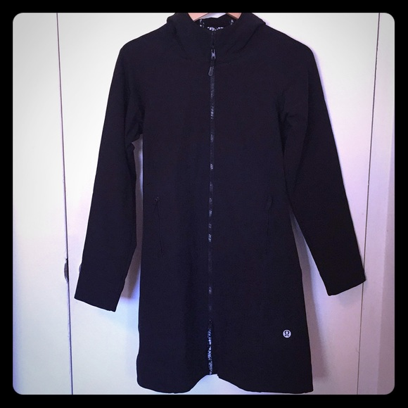 aec59acbe6 lululemon athletica Jackets & Blazers - Lululemon Black Apres Yoga Jacket